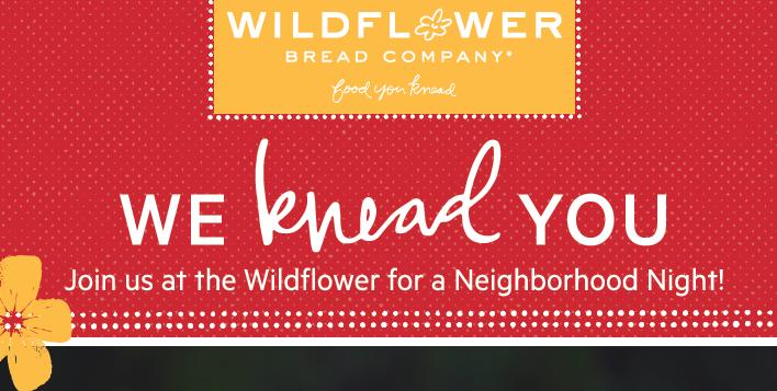Wildflower Bread Company Fundraiser