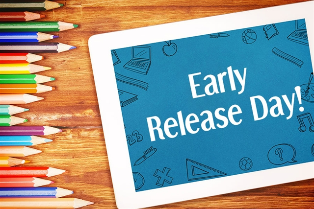 ATTENTION PVS FAMILIES – Early Release Days