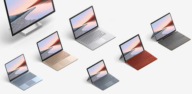 Microsoft Store Donates 30 Surface Laptop Go Devices and a Charging Cart to Prescott Valley Charter School